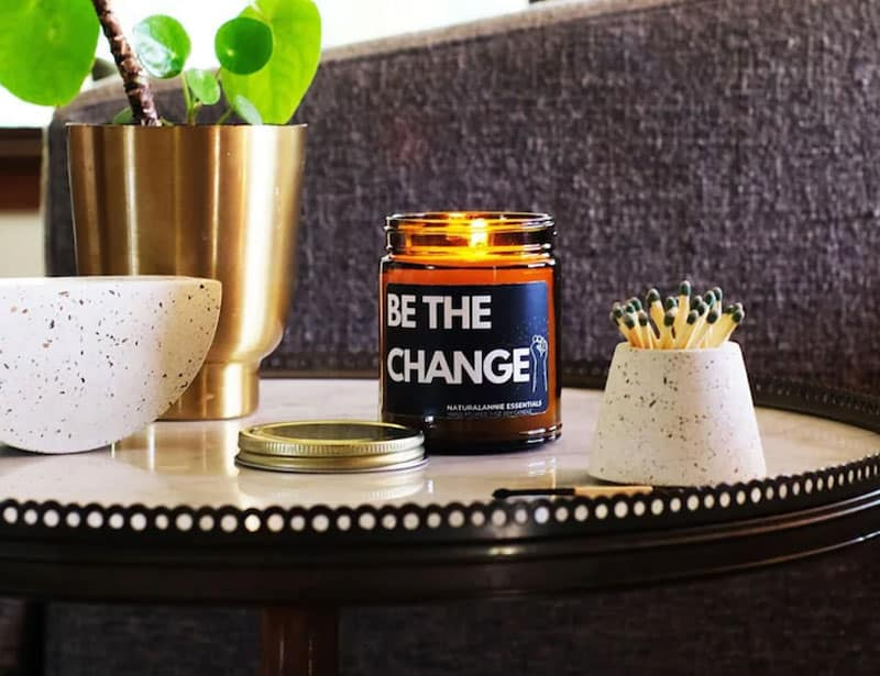 Natrual Annie Be The Change Eco Friendly Candle