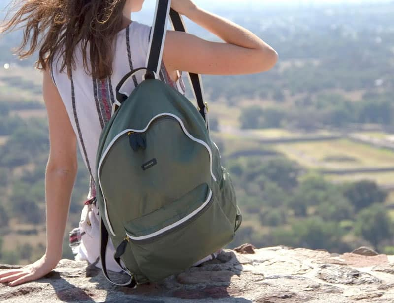 Paraval eco friendly backpack