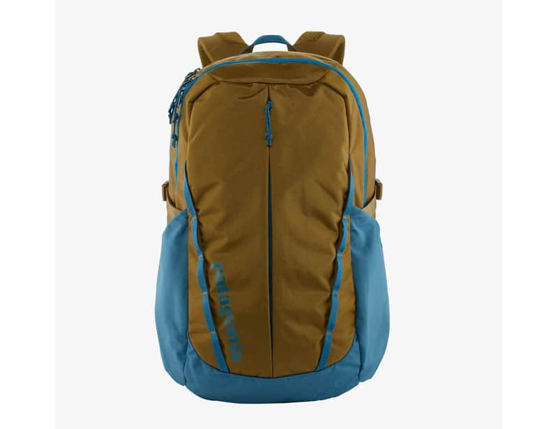 Patagonia recycled plastic backpack