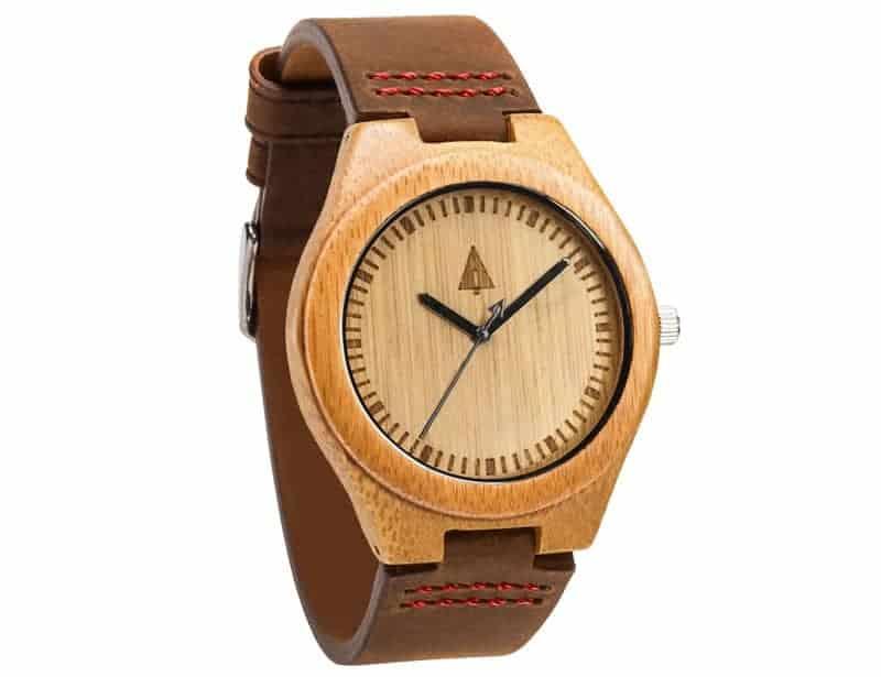 Treehut classic bamboo watch
