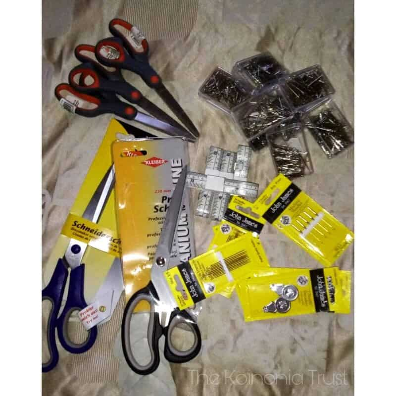 Sewing Equipment Donation