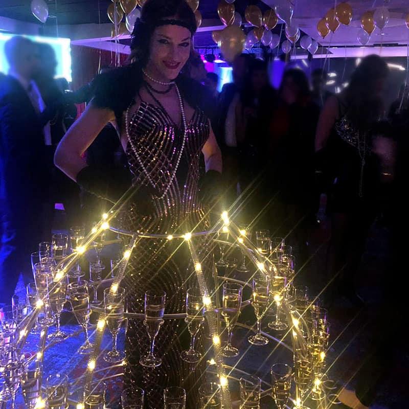 robe-a-champagne-Années-20 charleston a Tours