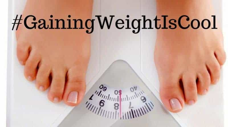 Weight scale - gaining weight