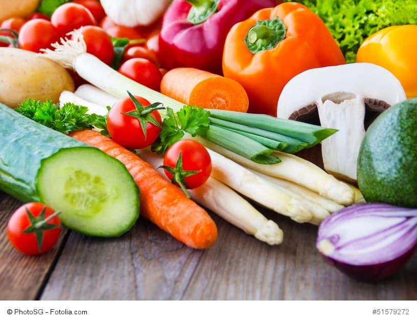 Obst und Gemüse gegen Mangelernährung