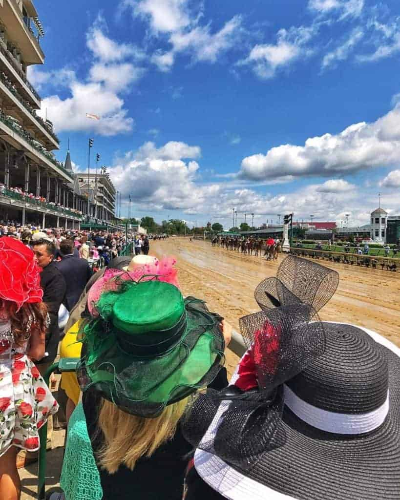 Kentucky Derby hats.