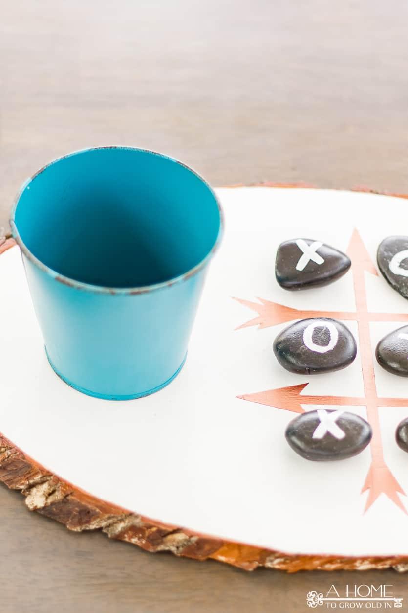 outdoor tic tac toe board game
