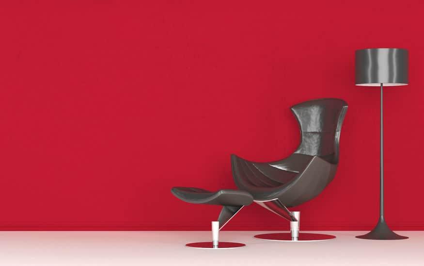 Modern stylish recliner chair