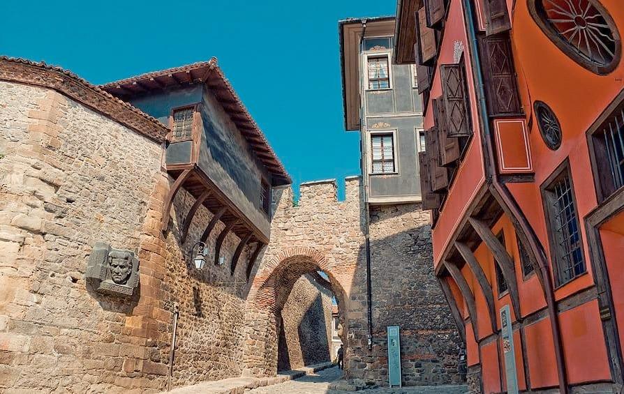 Barrio Viejo de Plovdiv.