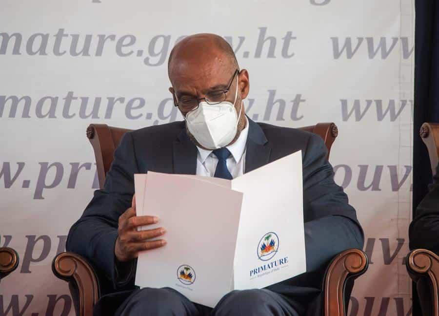 El nuevo primer ministro de Haití, Ariel Henry.