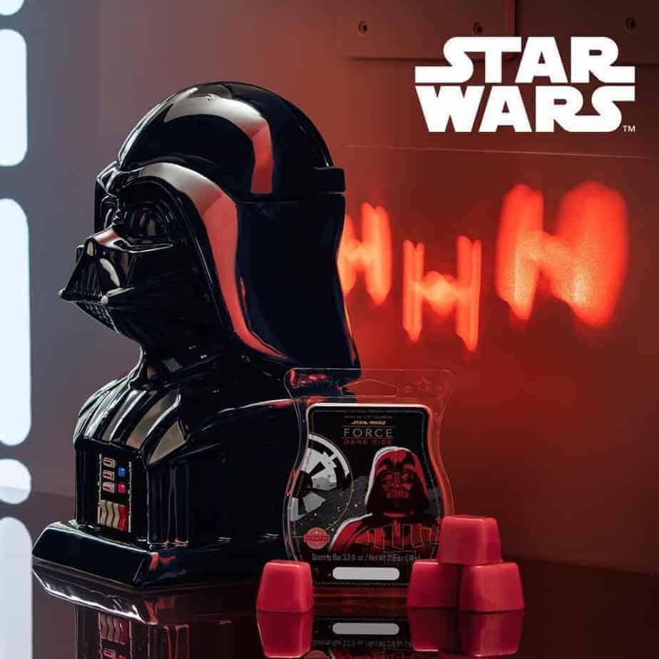 Darth Vader Scentsy Warmer Side Image