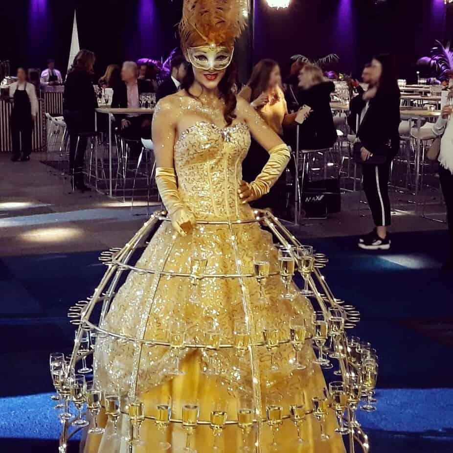 Dame de champagne Belgique