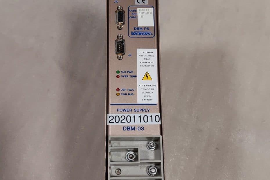 Vickers DBM-PS DBM-03 Power Supply Module GC2000