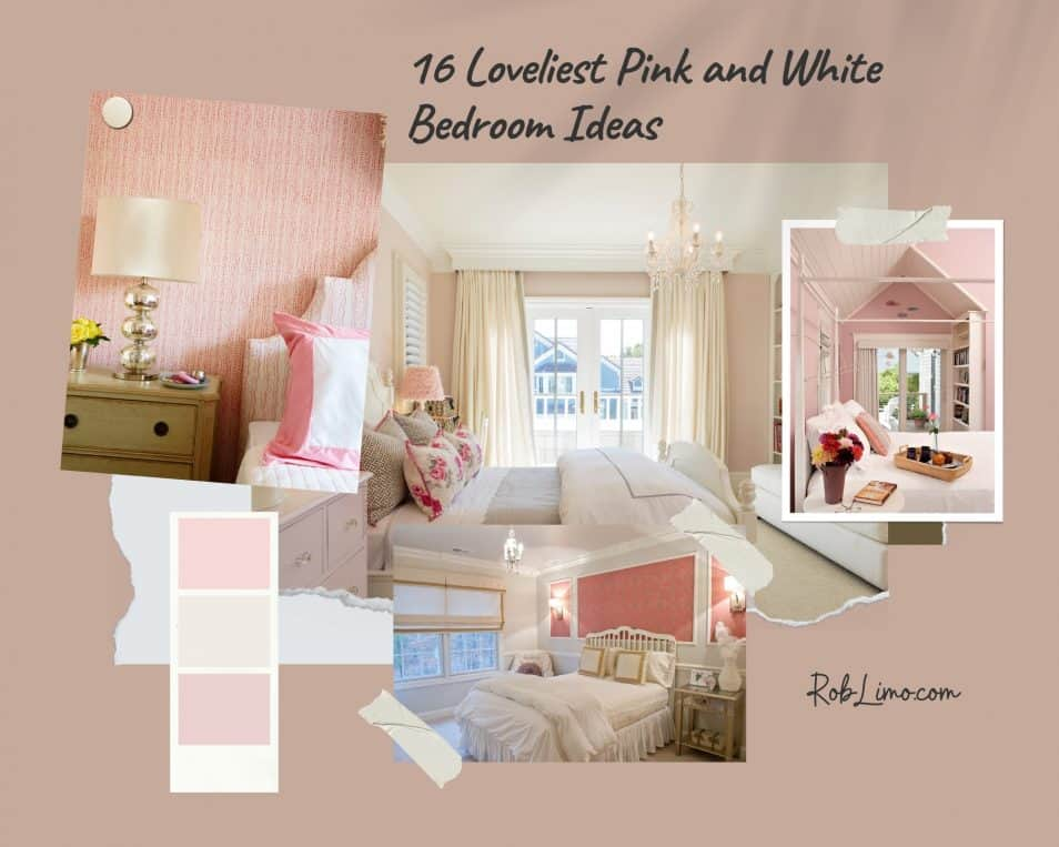 16 Loveliest Pink And White Bedroom Ideas You Should Definitely Try