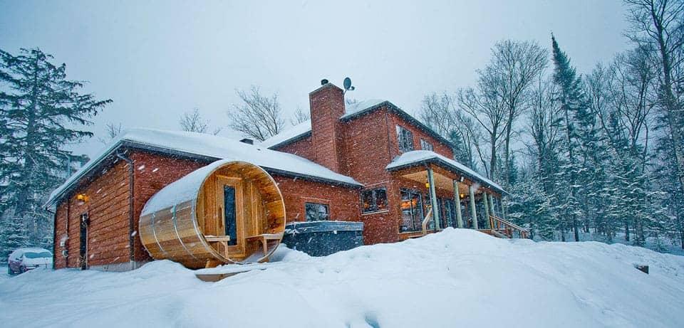Chalet, hiver
