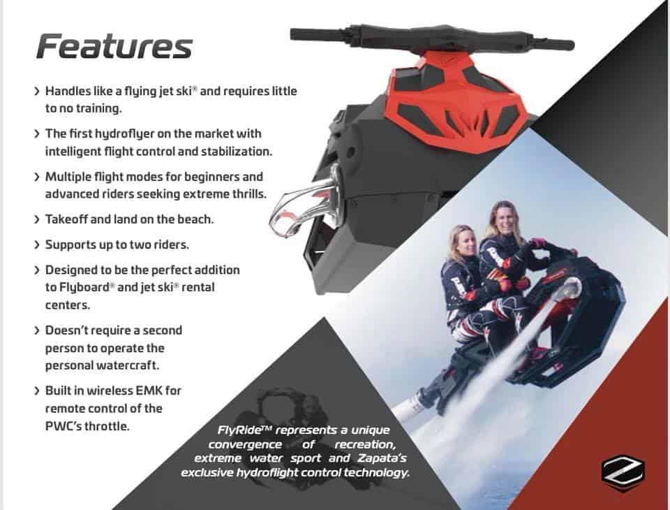 FlyRide Features