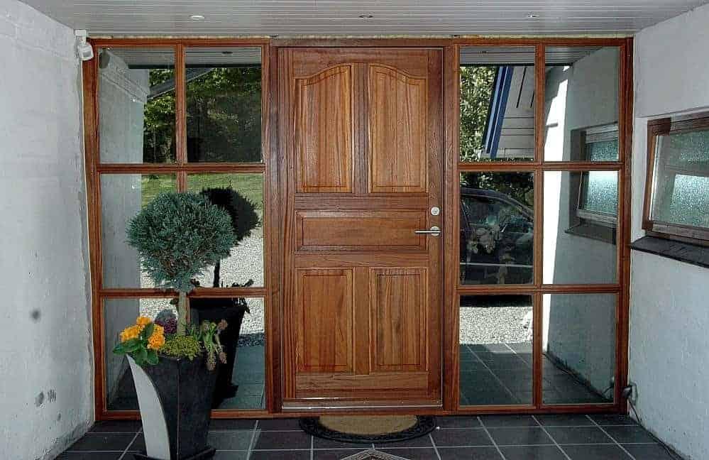mahogni vinduer og døre