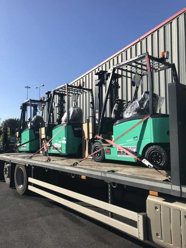 Machinery transport from Malcolm West