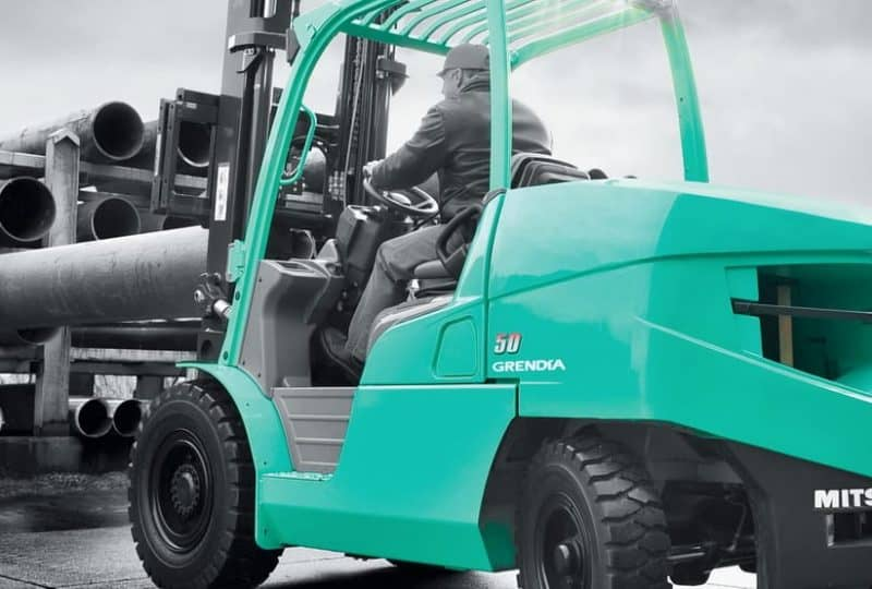 Mitsubishi Forklifts from Malcolm West