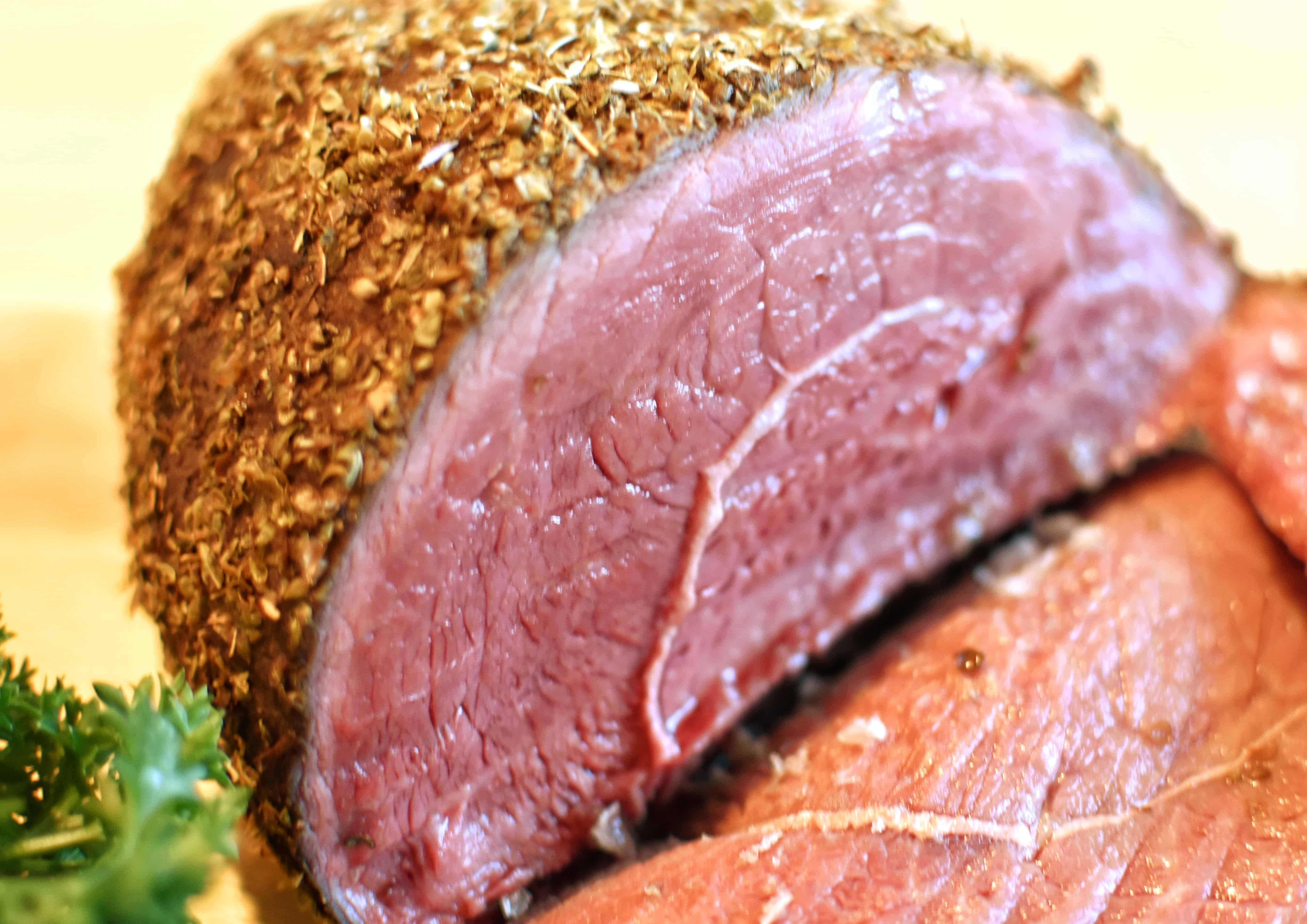 herb rubbed oven roast