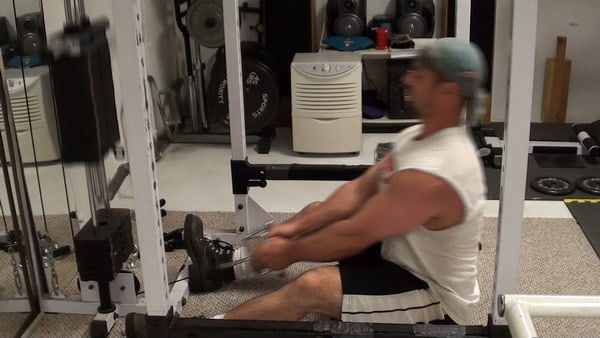 Build Your Back With 2 Up 1 Down Seated Cable Row Negatives