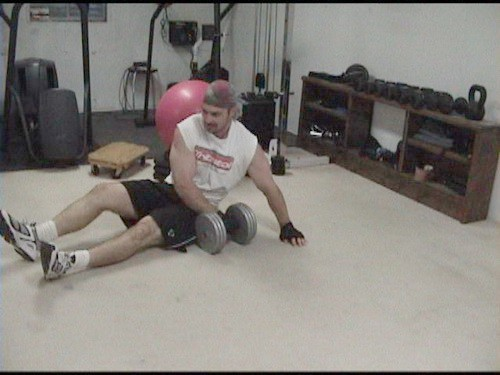 Tighten Up the Abdominal Wall With Weighted Side Planks