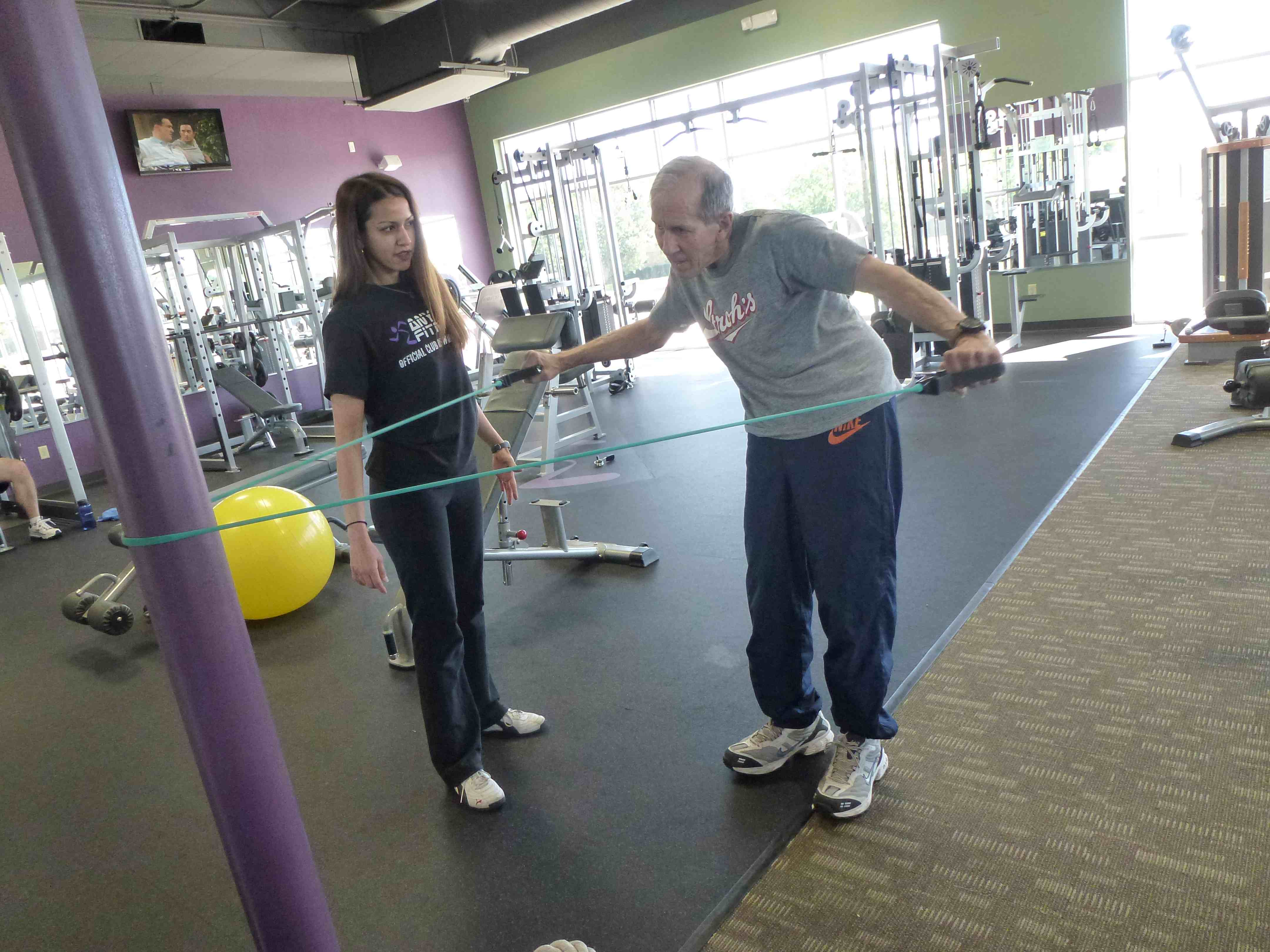 Strength Training with Parkinson's