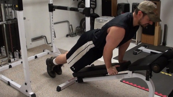 Ski Jumper Planks for Abdominal Strength and Stability