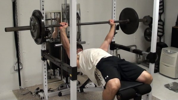 How to get Greater Tension on the Pec With Bench Pressing (1 and 1/4 Reps)
