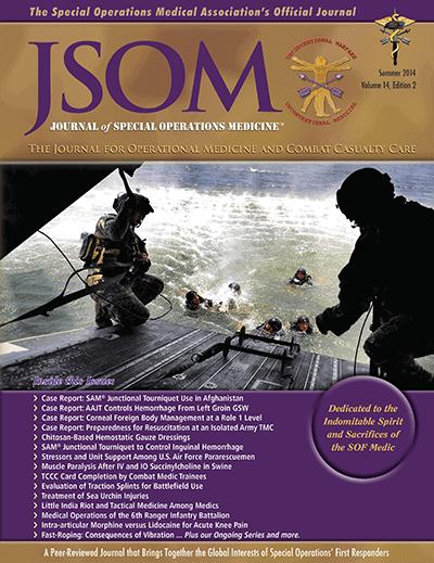 Journal Of Special Operations Medicine (JSOM) Paper