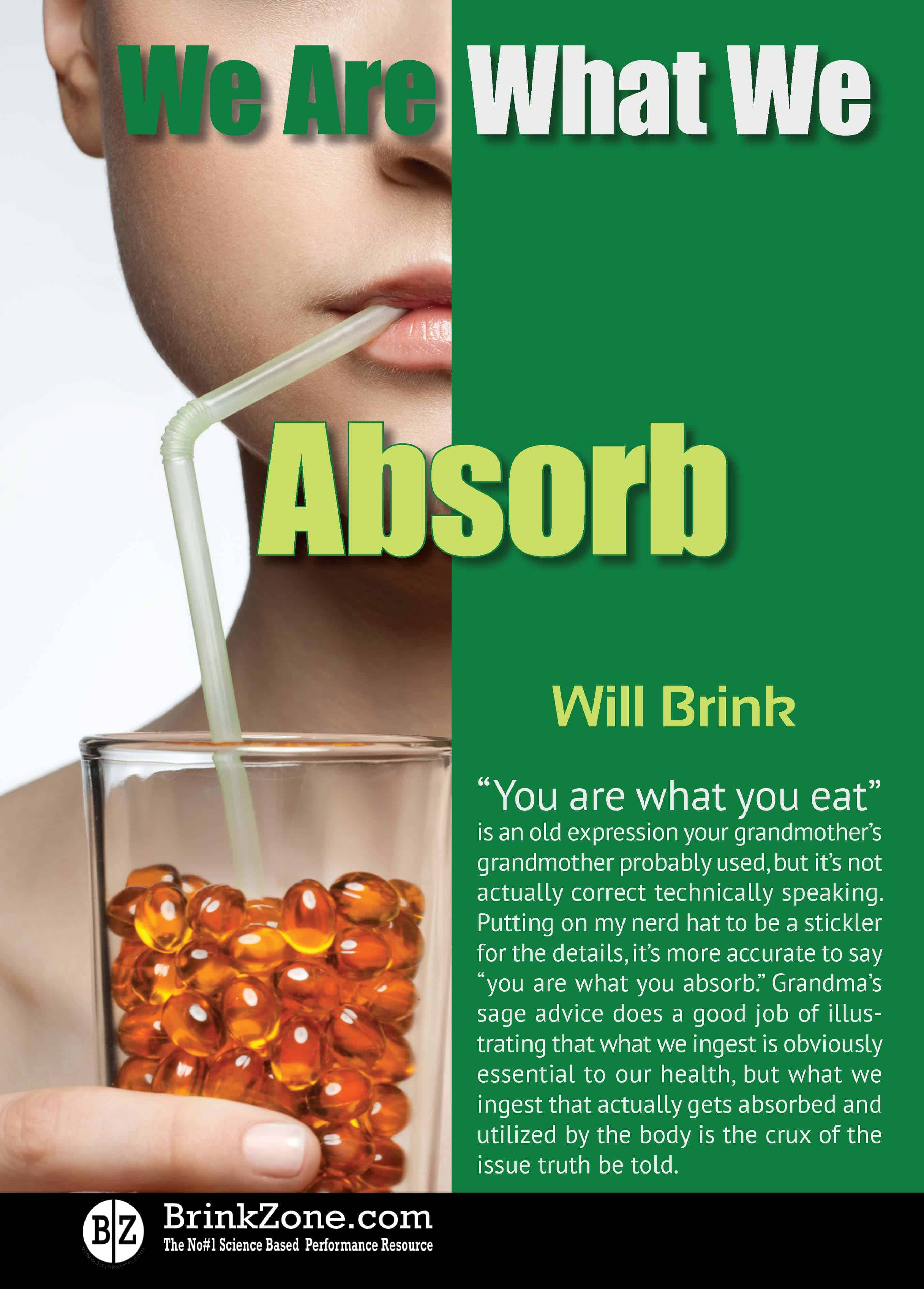 We Are What We Absorb I & II (Free PDF)