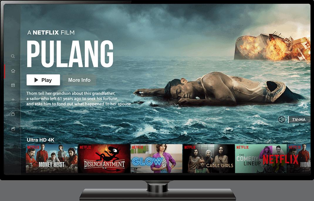 Netflix Pulang on Desktop Screen - Creative Agency - Citizen Best