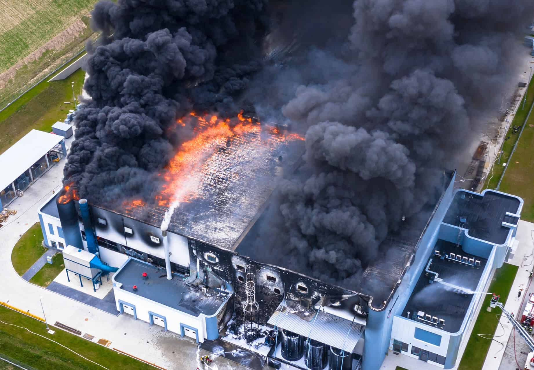 Commercial Fire Insurance Claim
