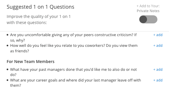 managing a new team ask them questions
