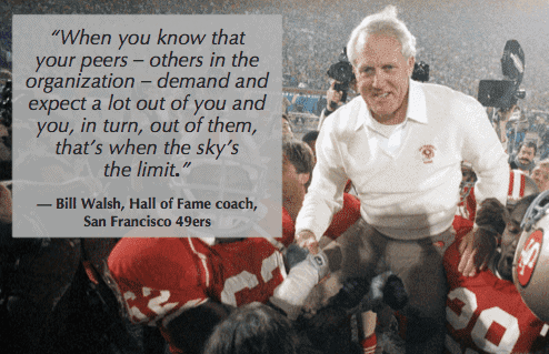as bill walsh knows, you need feedback to find out how teams are doing and skip level meeting questions help uncover them