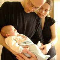 Papa naissance accouchement doula Lyon