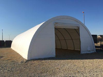Sklasišni šator u Falcon doo, Surčin