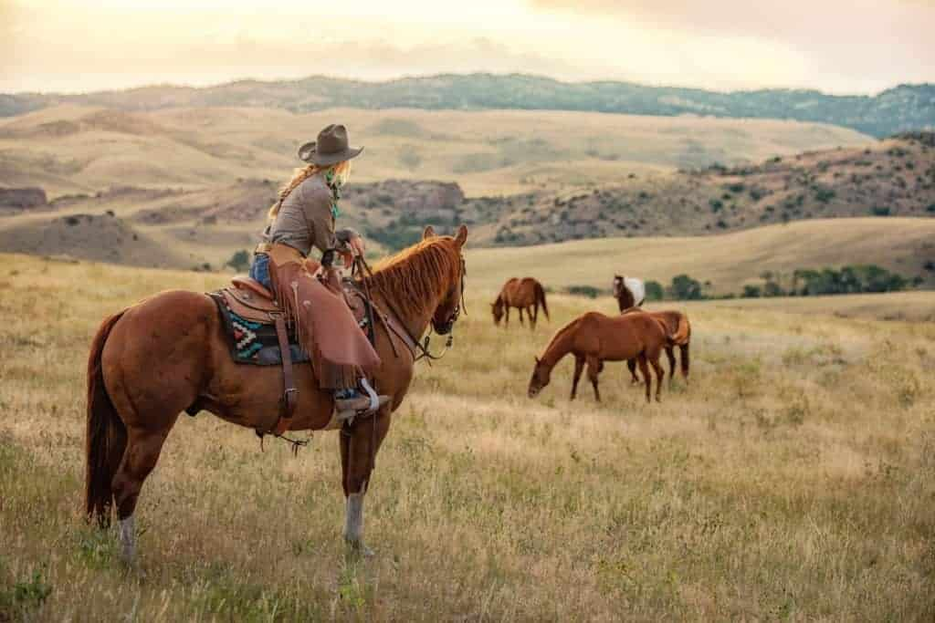 Wyoming cowgirl.