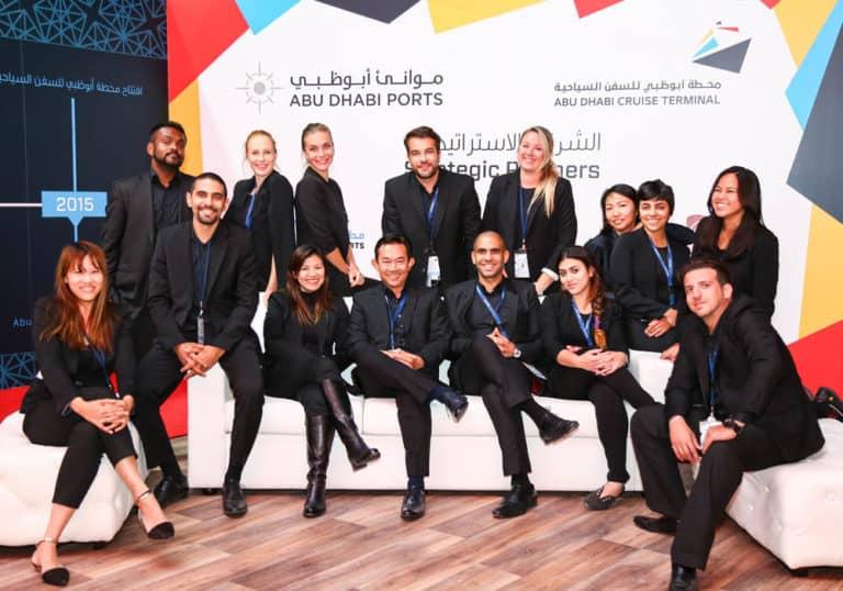 Abu Dhabi Ports Cruise Terminal Opening Ceremony