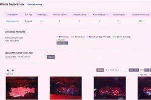 Data Management for Image Annotation: TaQadam Platform