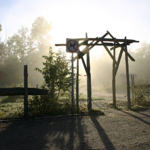 Entrée du parc