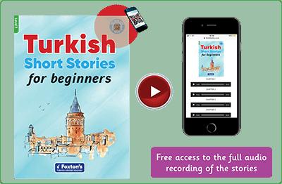 Turkish Short Stories for Beginners - video playe ile