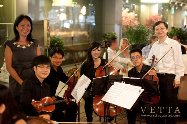 String Quartet for 4th Asia Pacific Gastric Cancer Congress Dinner at Jing Restaurant