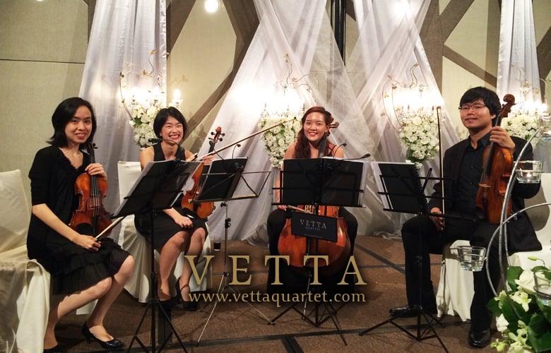 Wedding Dinner Banquet at Crowne Plaza Changi Airport
