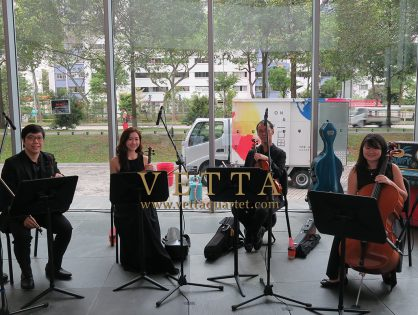 String Quartet for HometeamNS Event at Republic Poly TRCC