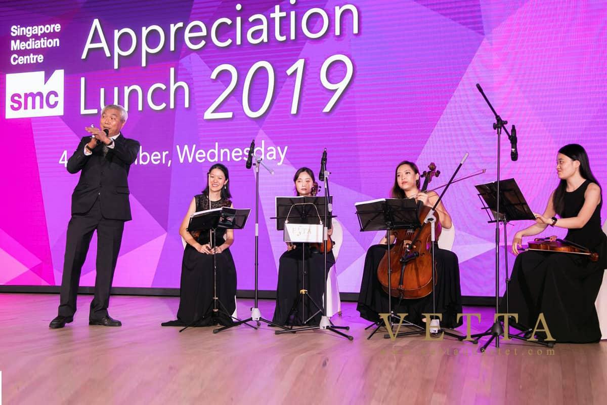 Singapore Mediation Centre Appreciation Lunch 2019 at Ritz Carlton