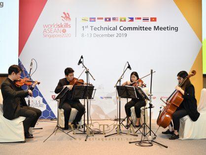 Worldskills ASEAN Singapore 2020 at Grand Copthorne Waterfront Grand Ballroom