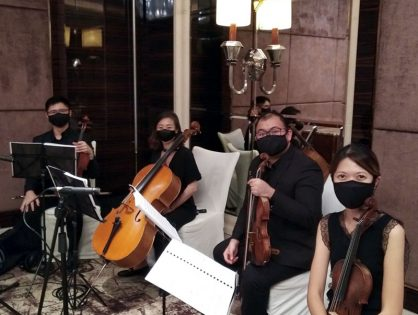 Tiffany & Chayadi's Wedding at St Regis, Embassy Room
