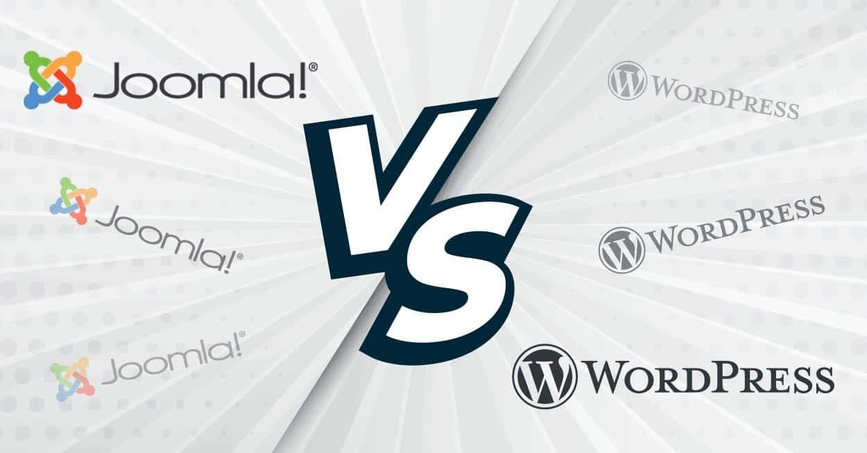 Joomla VS WordPress, le match des CMS