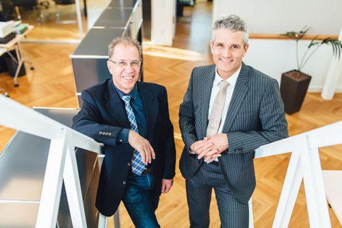Dr. Michael Dreist und Carsten Nicklaus