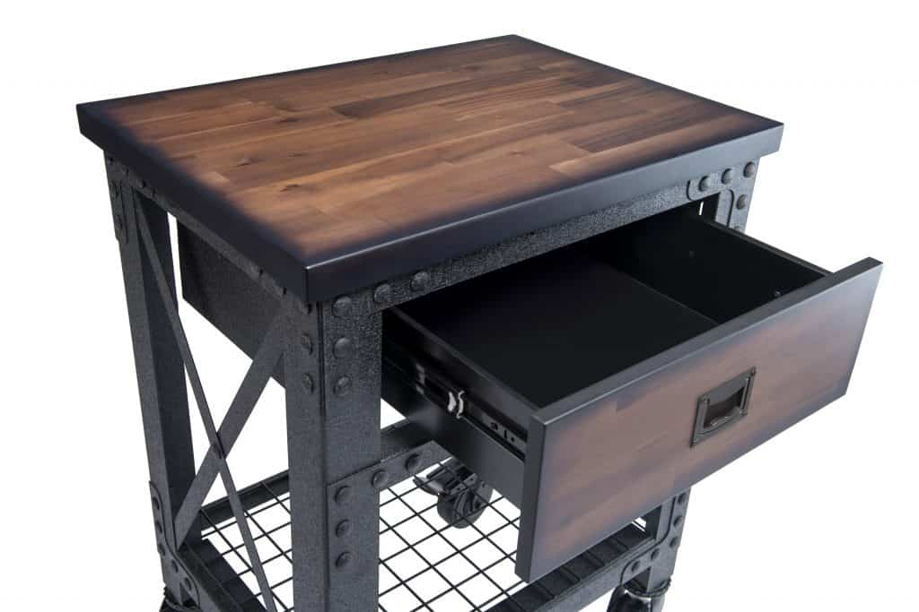 Rolling Workbench single drawers 27.6